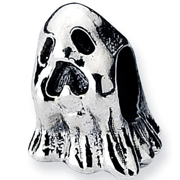 Reflection Beads Silver Scary Ghost Celebrate Bead
