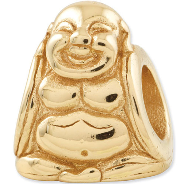 Reflection Beads Silver Gold Plated Buddha Religious Bead