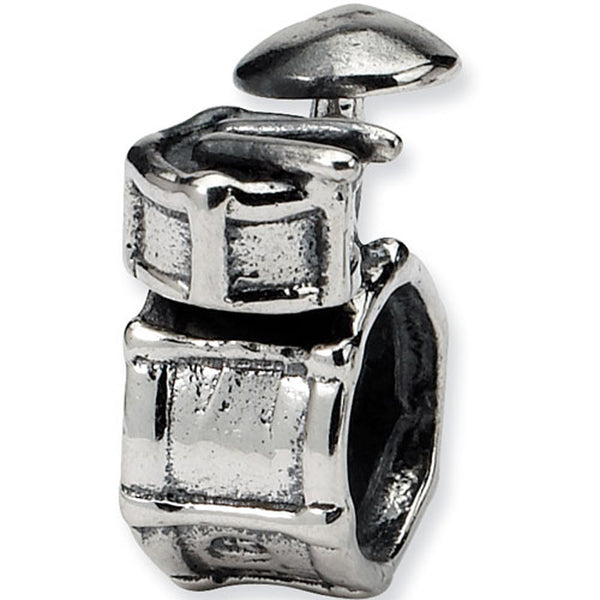 Reflection Beads Silver Drum Set Entertainment Bead