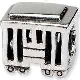 Reflection Beads Silver Streetcar Travel Bead