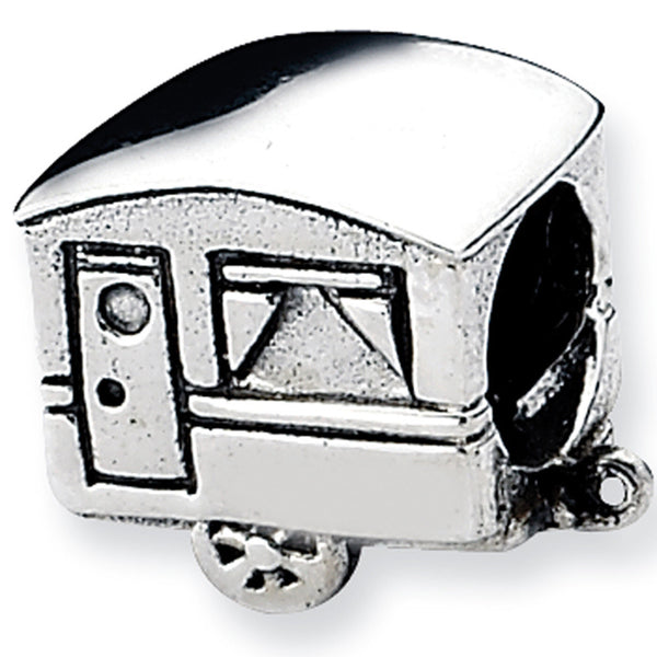 Reflection Beads Silver Camper Travel Bead