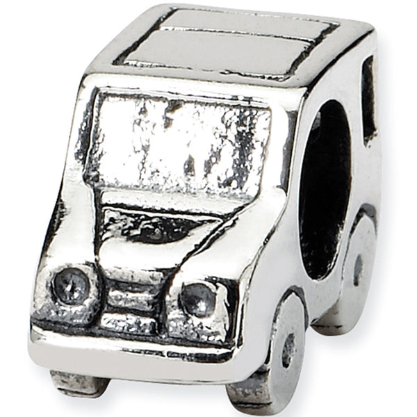 Reflection Beads Silver SUV Car Travel Bead