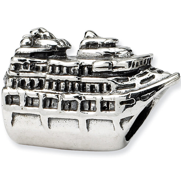 Reflection Beads Silver Cruise Ship Travel Bead