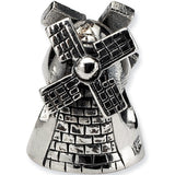 Reflections Beads Silver Windmill Travel Bead