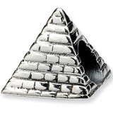 Reflections Beads Silver Pyramid Travel Bead