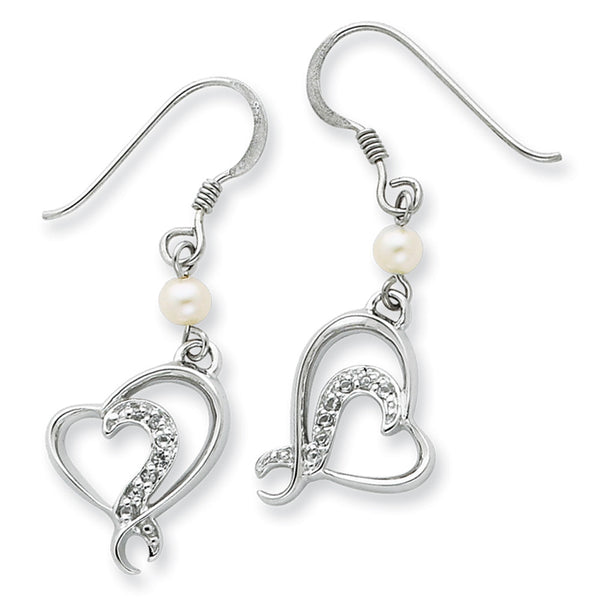 Sterling Silver For My Bridesmaid Sentimental Expressions Earrings