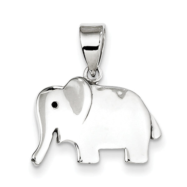925 Sterling Silver Happy Elephant Girls Fashion Pendant