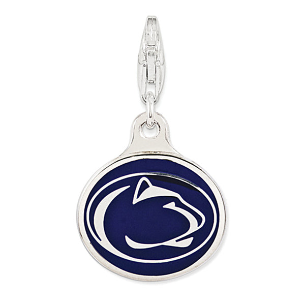925 Sterling Silver Licensed Collegiate Penn State University Charm