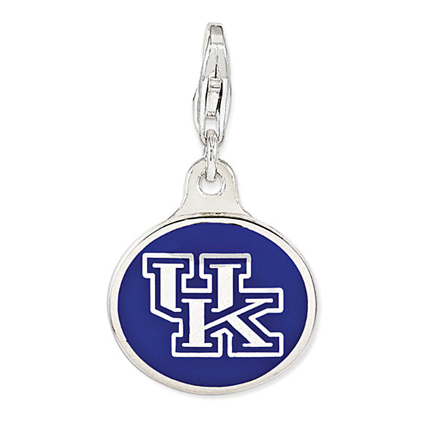 925 Sterling Silver Licensed Collegiate University of Kentucky Charm