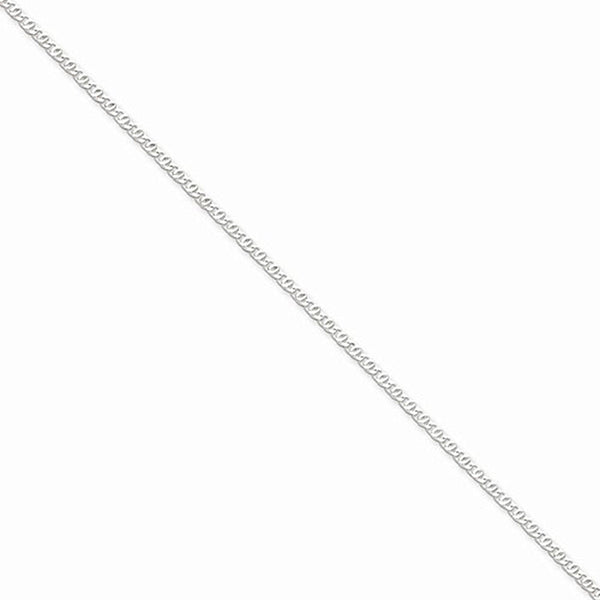 925 Sterling Silver Detailed 2mm Wide Anchor Chain Ankle Bracelet