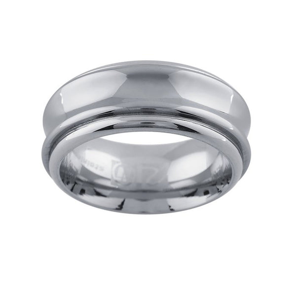 9mm Stainless Steel Tungsten Ring