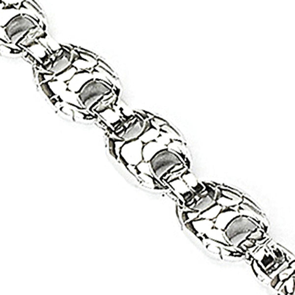 SPIKES 316L Stainless Steel Turtle Shell Bracelet