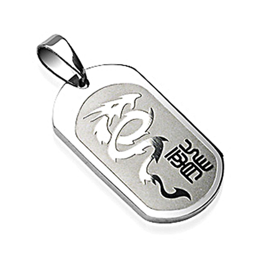 pendant lockets white tag inch versil dog necklace pin chisel medical stainless steel
