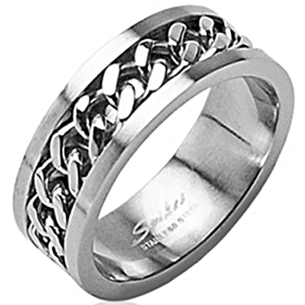 chain spk products engagement ring spikes rings stainless steel bodycandy