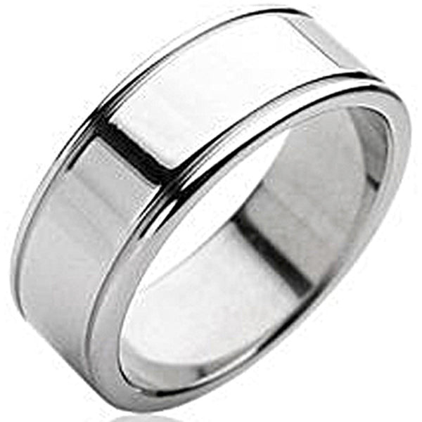 SPIKES 316L Stainless Steel Pure Ring