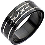 SPIKES 316L Stainless Steel Triple X Ring
