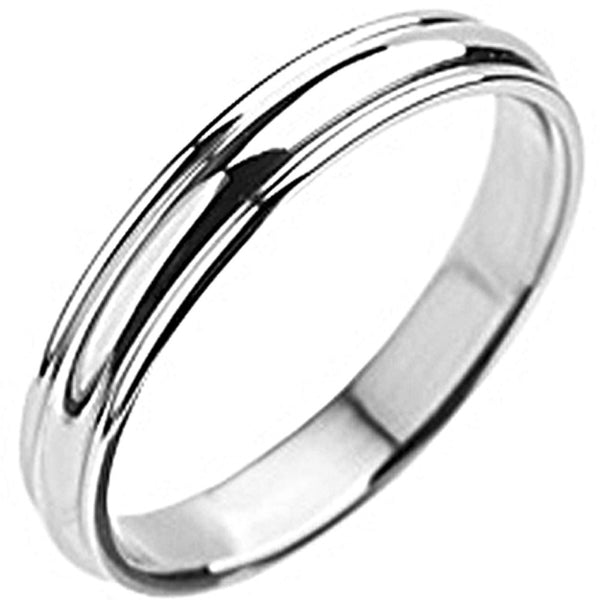 SPIKES 316L Stainless Steel Grooved Ring