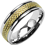 SPIKES 316L Stainless Steel Groove on Up Ring