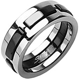 SPIKES Titanium Black Sheep Dexter WOMEN'S Ring