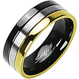 SPIKES Titanium Trifecta WOMEN'S Ring