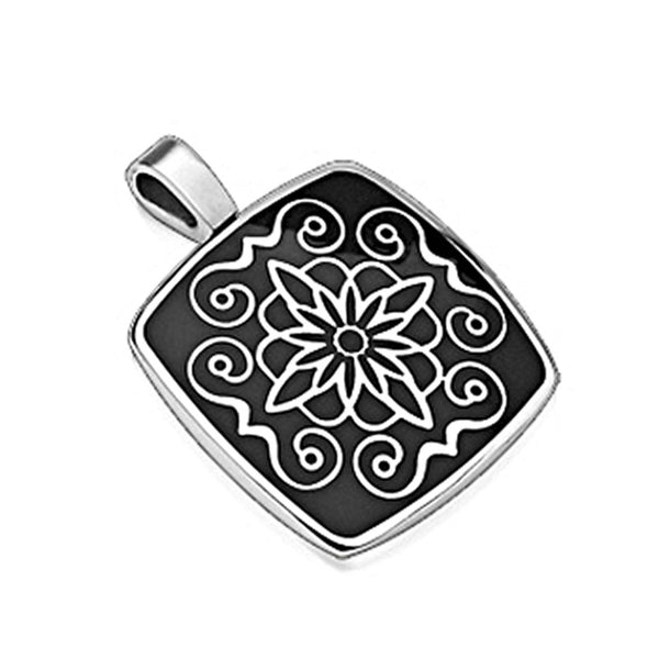 SPIKES 316L Stainless Steel Pendant Lotus