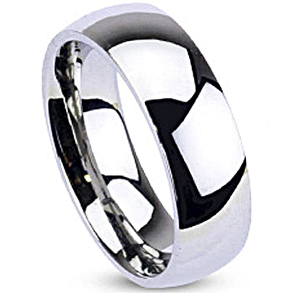 band wedding polished brushed platinum ring gents rox palladium and bands