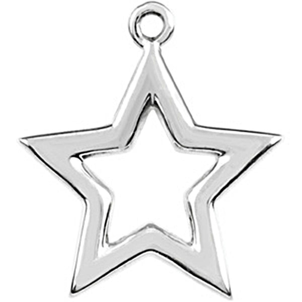 Sterling Silver Tiny Star Charm