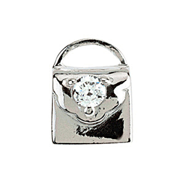 Kera Cubic Zirconia Purse Bead
