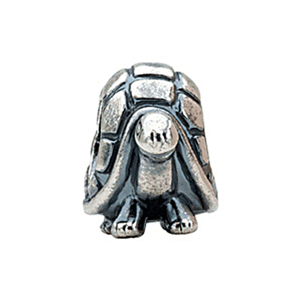 Kera Sterling Silver Turtle Bead