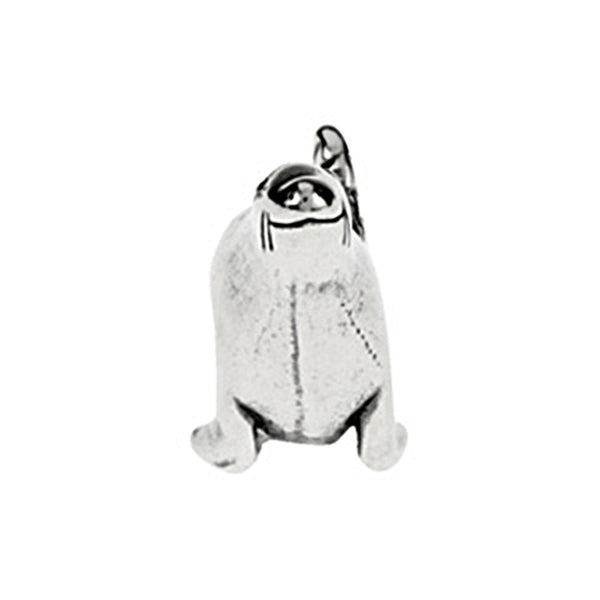 Kera Sterling Silver Seal Bead