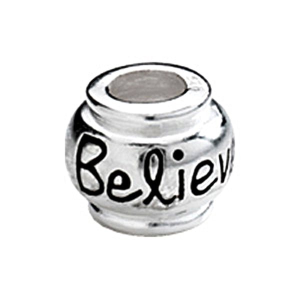 Kera Sterling Silver Believe Expression Bead