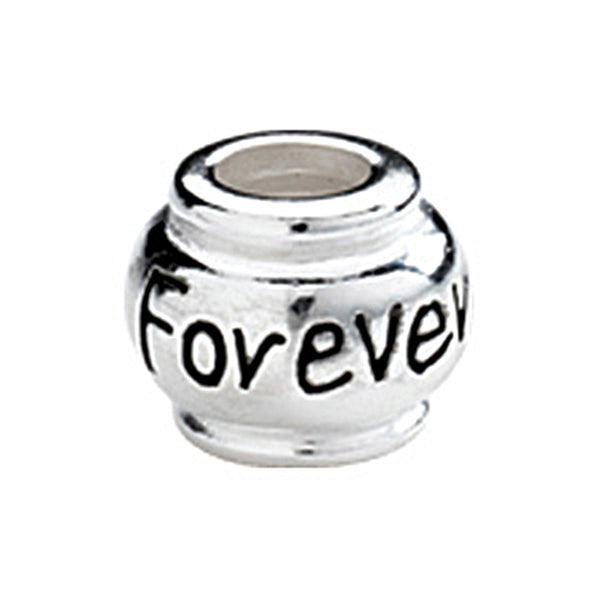 Kera Sterling Silver Forever Expression Bead
