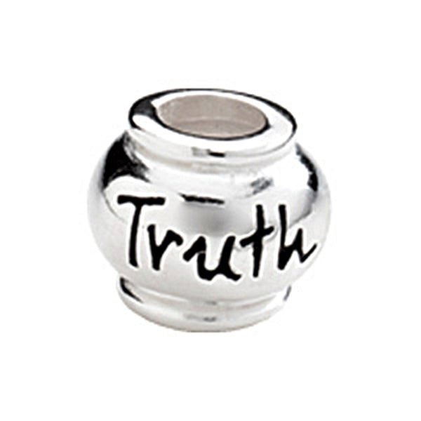 Kera Sterling Silver Truth Expression Bead