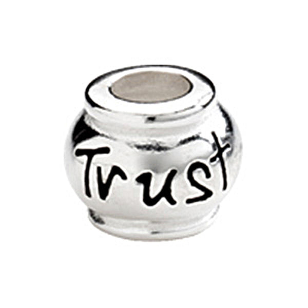 Kera Sterling Silver Trust Expression Bead