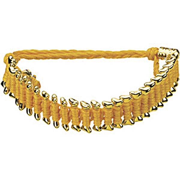 Heart U Back Gold Plated Dog Bone Friendship Bracelet