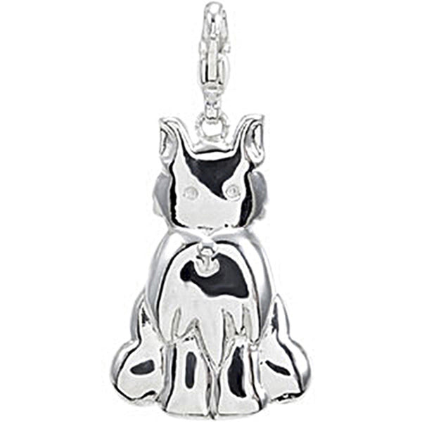Sterling Silver Scottish Terrier Charm