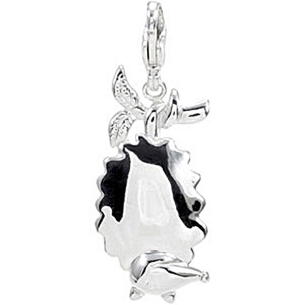 Sterling Silver Opossum Charm