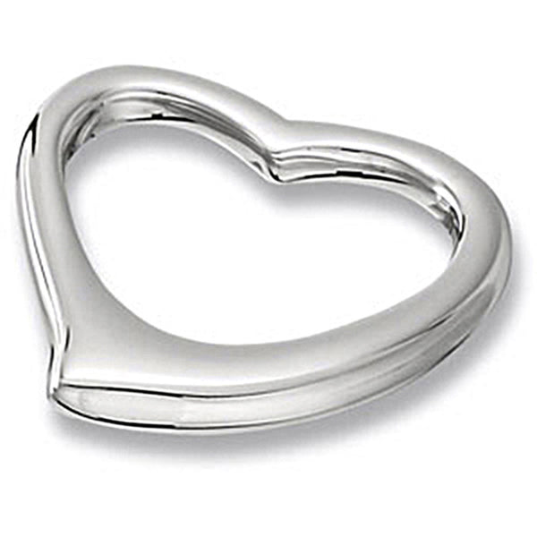 Amalfi Stainless Steel Floating Heart Pendant