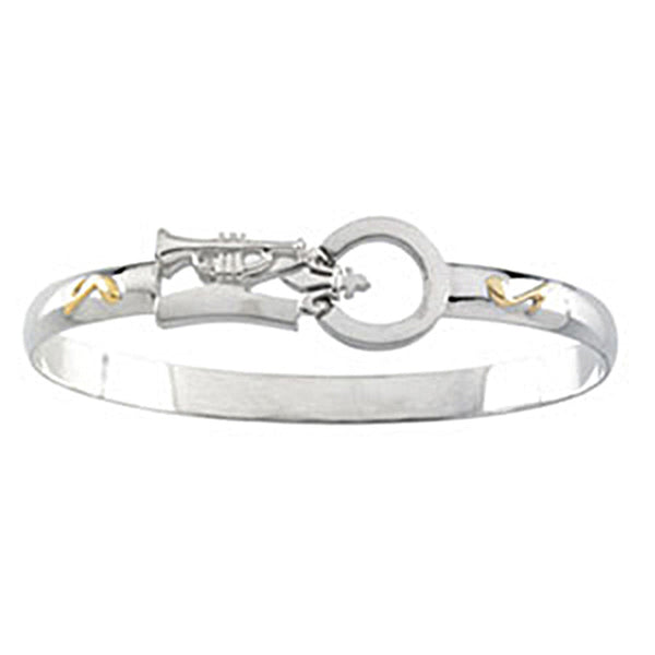 14kt Silver Montesino New Orleans Destination Bracelet - 7.5 Inches
