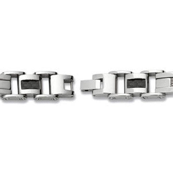 Stainless Steel Cable Men's Bracelet