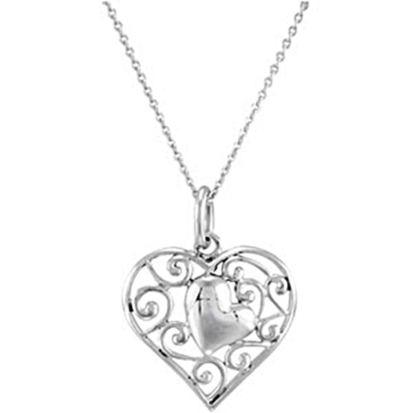 Inspirational Blessings Sterling Silver My Adopted Child Necklace