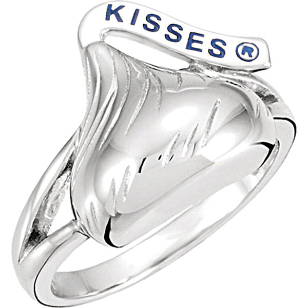 Sterling Silver Hershey?s Kisses Split Band Ring