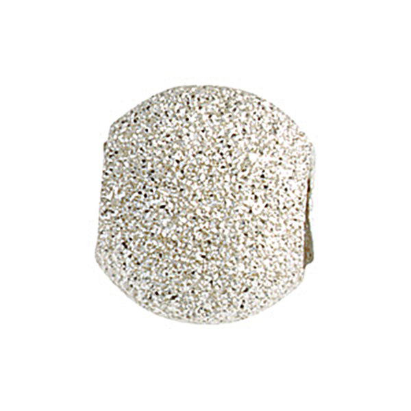 Kera Sterling Silver Stardust Finish Smart Bead
