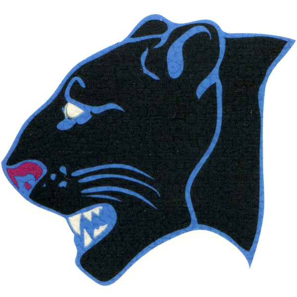 PANTHER HEAD PORTRAIT Temporary Tattoo 2x2
