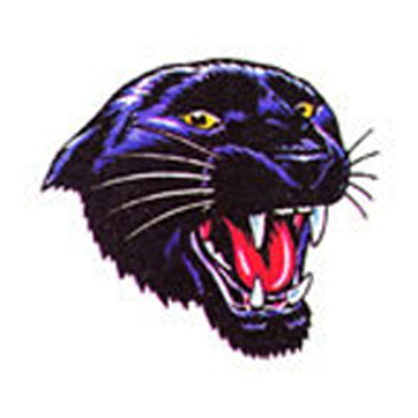 GROWLING PANTHER Temporary Tattoo 2x2