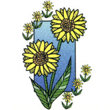 Sunflowers Temporary Tattoo 2x2