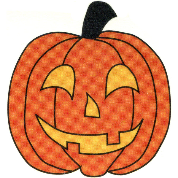 Pumpkin Temporary Tattoo 2x2