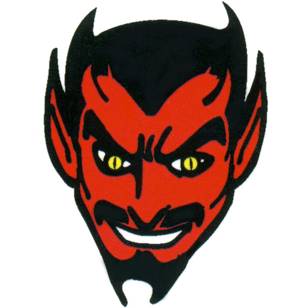 Red Devil Temporary Tattoo 2x2