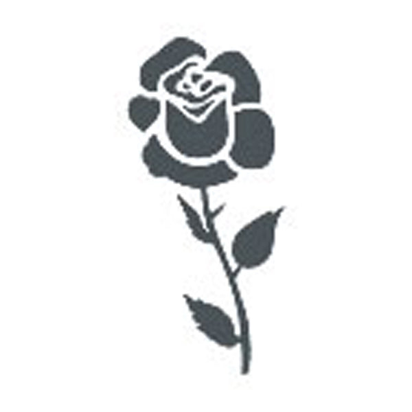 ROSE BLOOM Temporary Tattoo 2x2