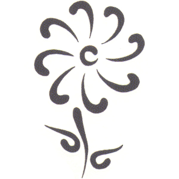 FLORAL FANTASY Temporary Tattoo 2x2